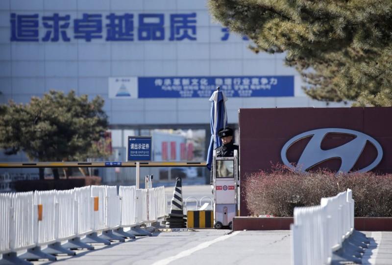 產能過剩  現代汽車傳擬5月關閉北京工廠