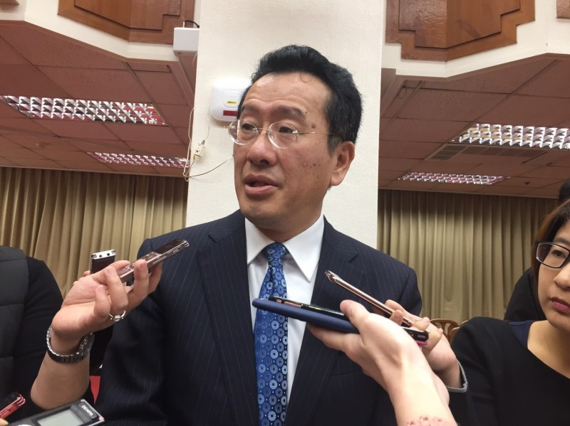 鴻海郭董要選總統 顧立雄:須做好接班人之重訊揭露
