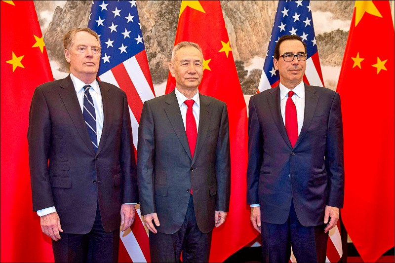 美中月底續貿易磋商 聚焦7議題