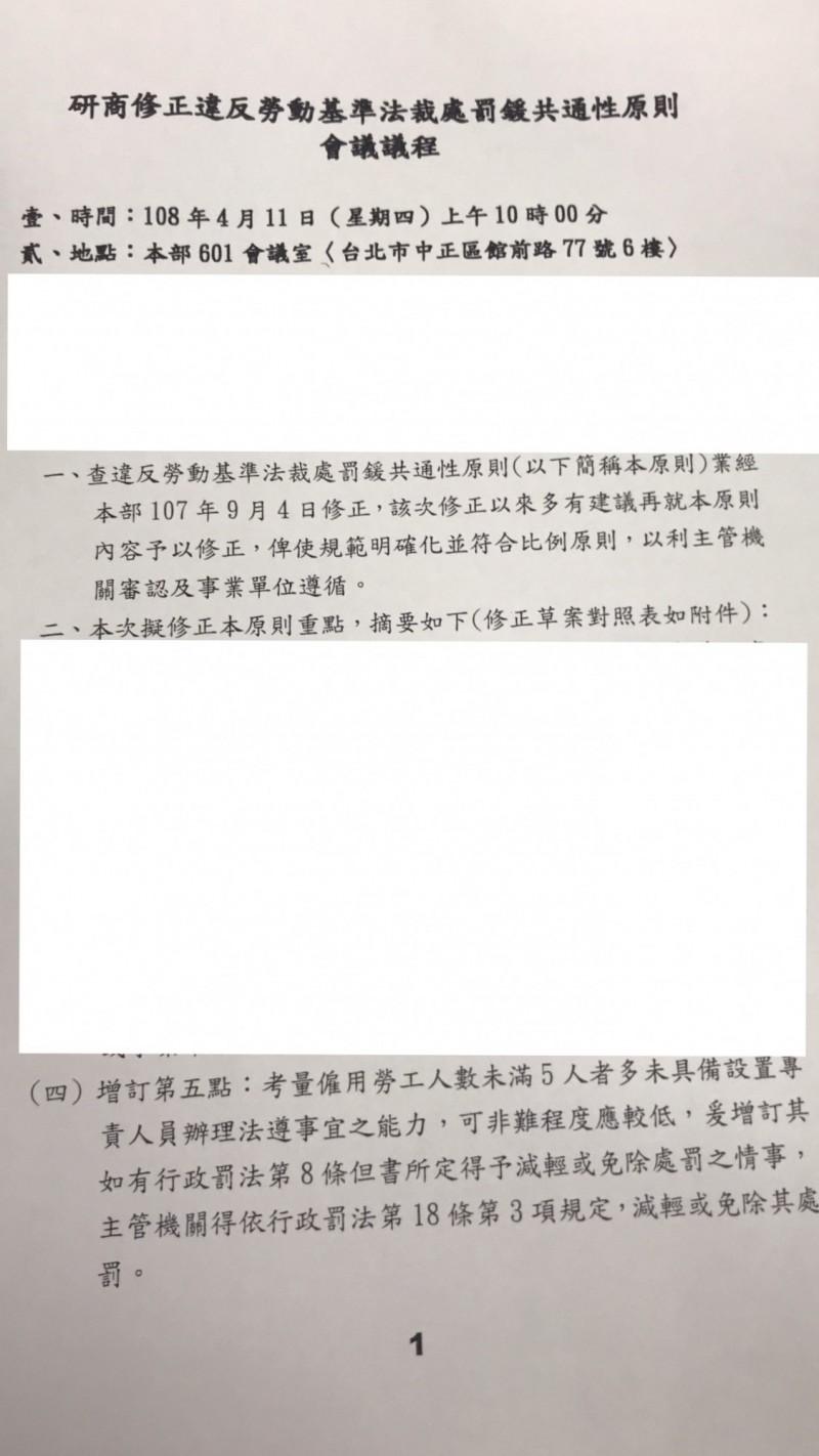 小雇主違勞基法擬免罰  勞動部討論中