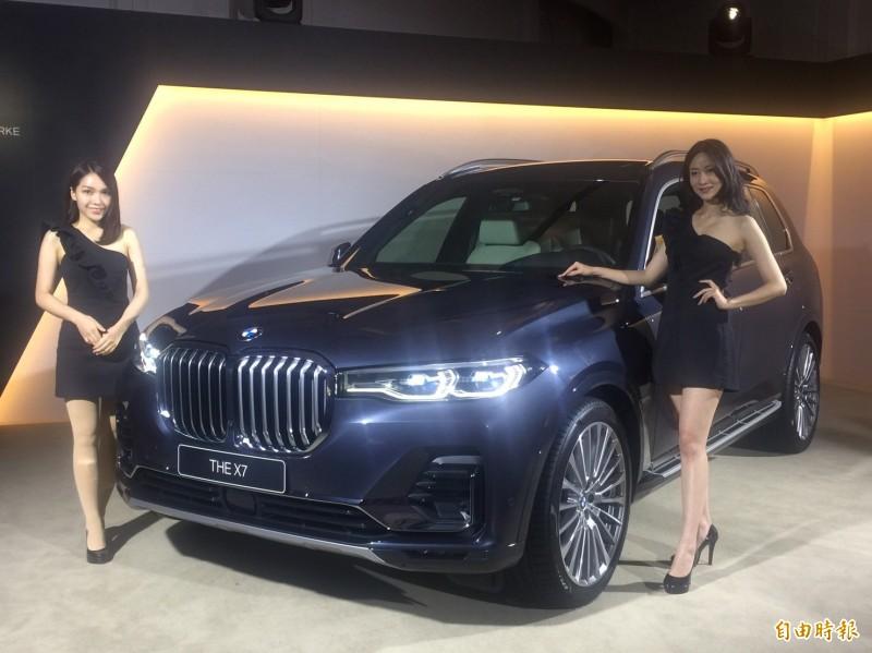 BMW全球最霸氣的X7休旅車登台 488萬元起好便宜?
