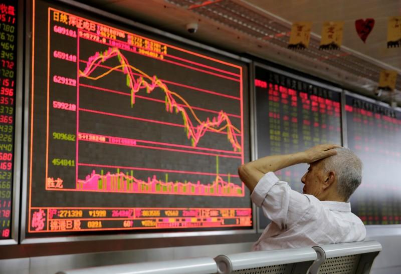 中國股市本週流出資金 創2015年以來最大規模