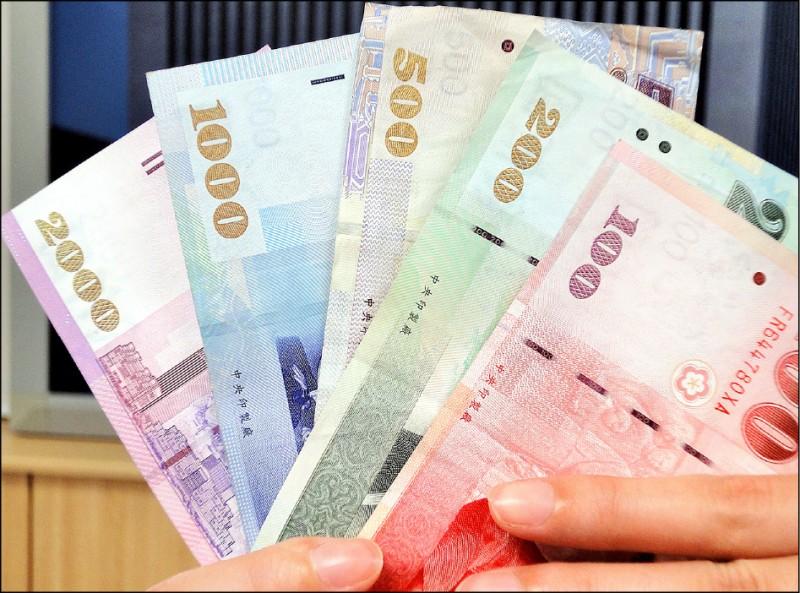 台幣收31.385 近28個月新低