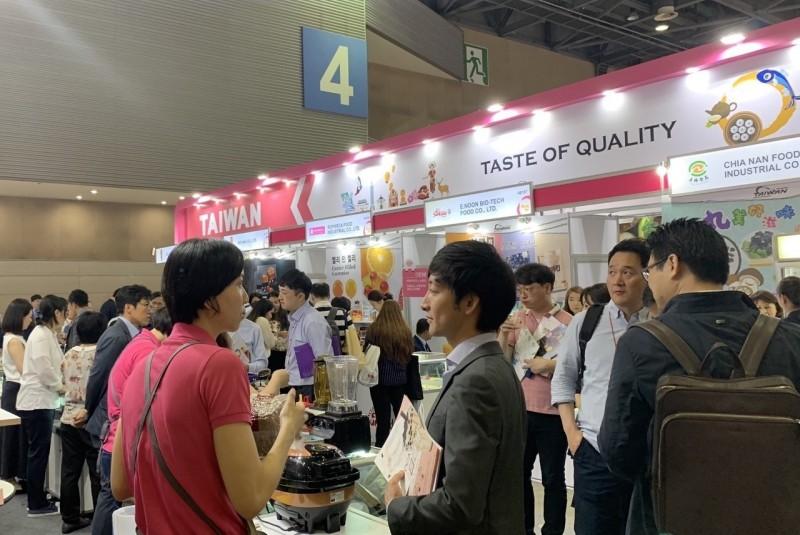 台灣味攻韓國!首爾食品展台灣館吸上億出口商機