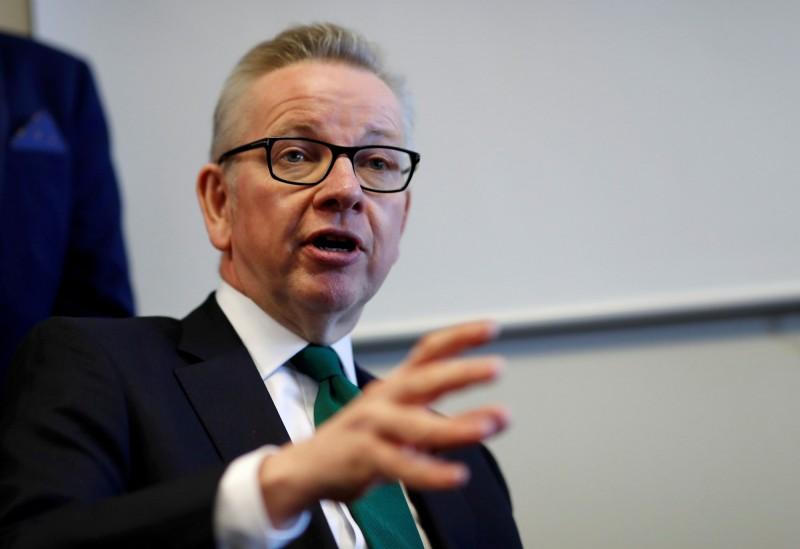 英首相參選人Michael Gove喊話 脫歐還是有協議好