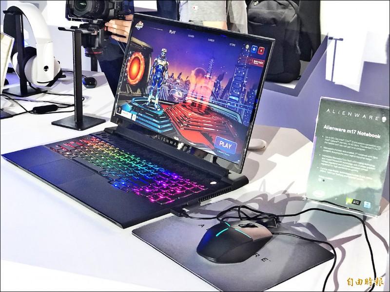 戴爾推出20款筆電 看好電競市場