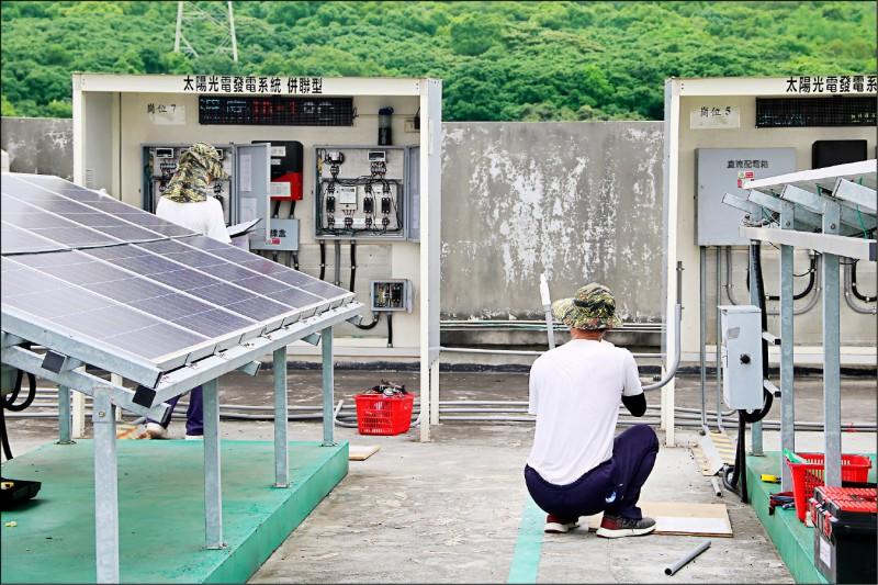 推動太陽光電 台中逾萬坪國有地6.18標租