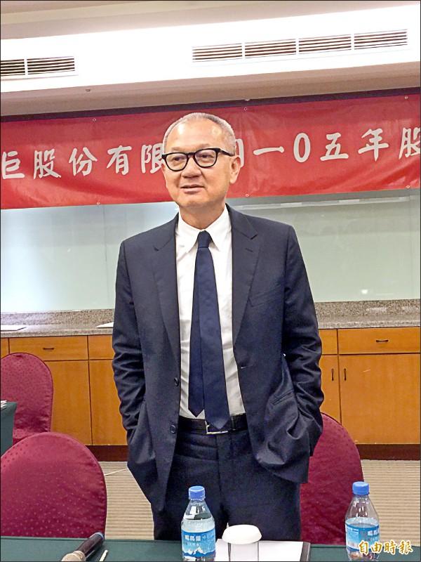 國巨董事酬勞逾10億破紀錄 陳泰銘翻四倍領1.56億
