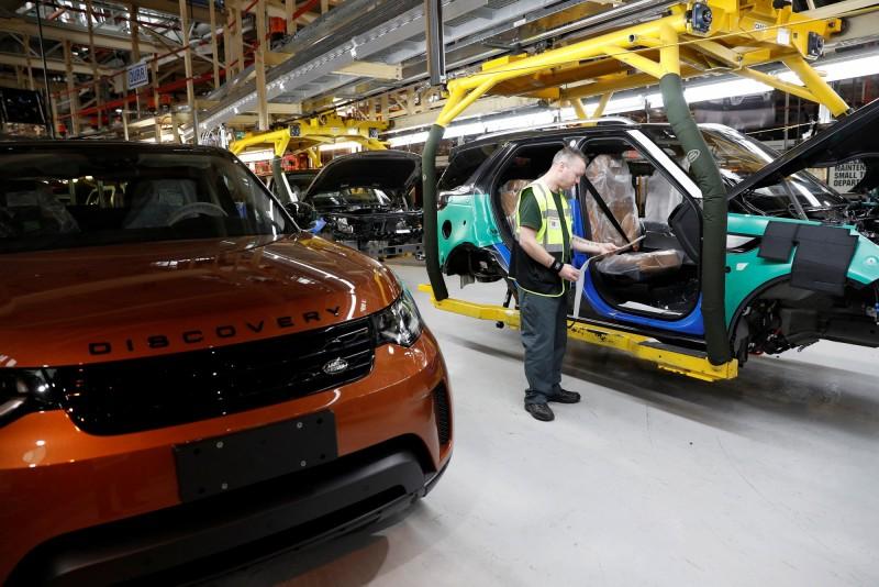 因應脫歐混亂停工 英國4月汽車產量較去年大減近半