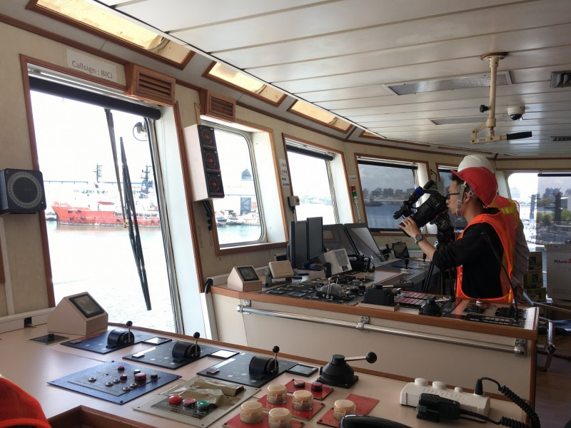 首艘國產鑽探船今高雄下水 日燒油30萬元