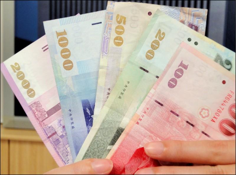 升勢受壓抑 台幣收31.48元