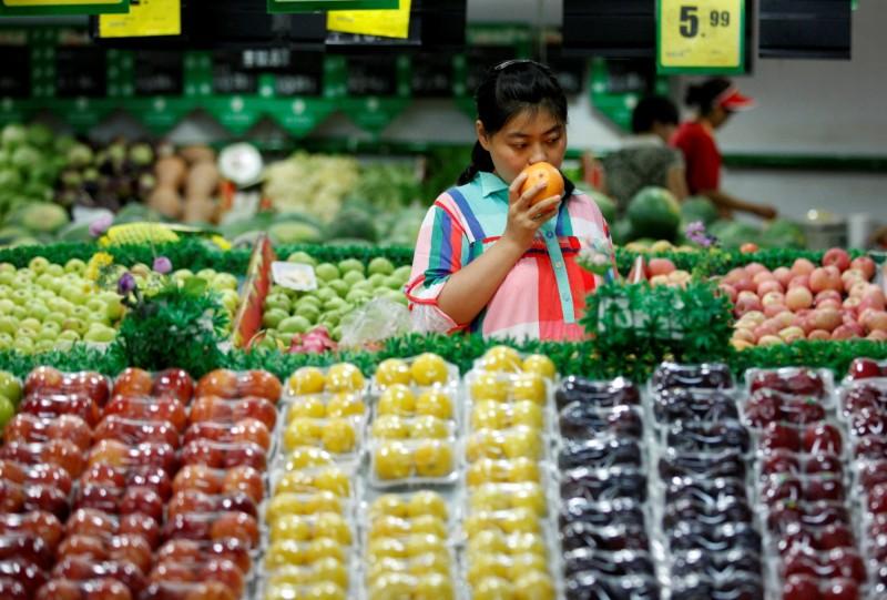 除了經濟放緩、貿易戰 中國食品價格出現通貨膨脹