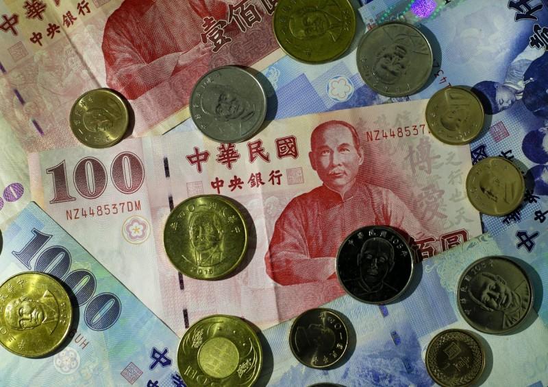 終止連3升 新台幣微貶1.2分