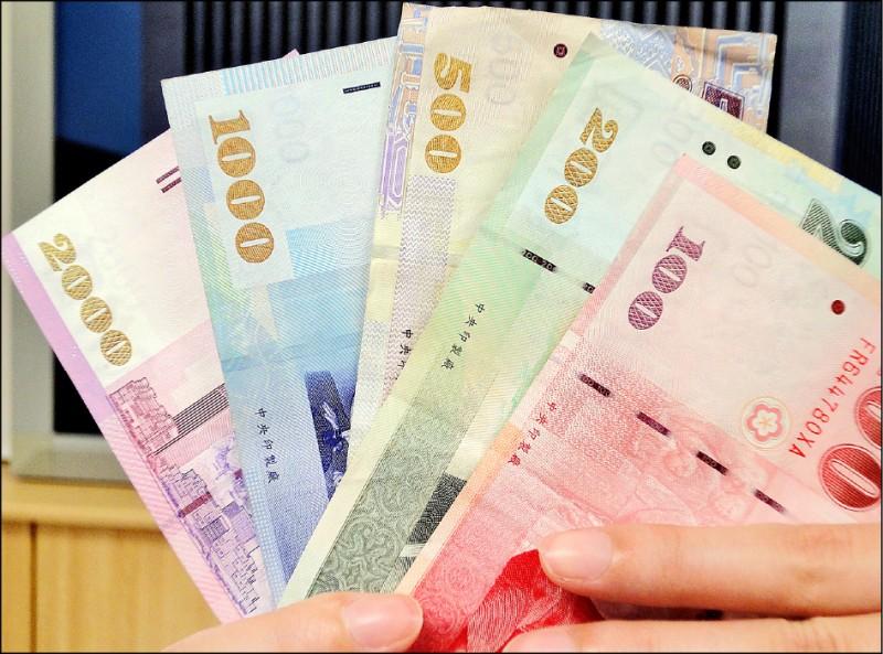 股匯不同調 台幣貶3.4分