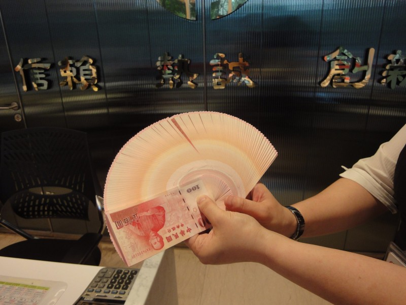 新台幣升勢趨緩 中午升2.3分暫收31.087元
