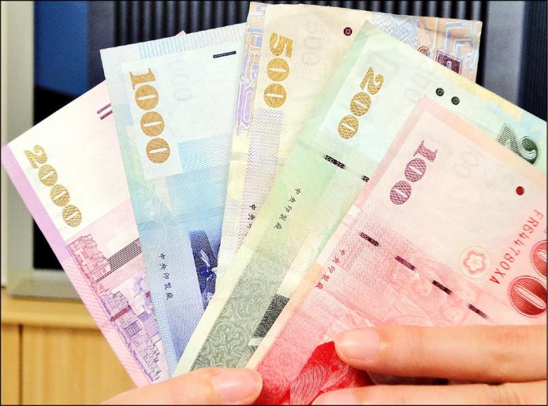 外資賣股匯出 台幣收貶7.8分