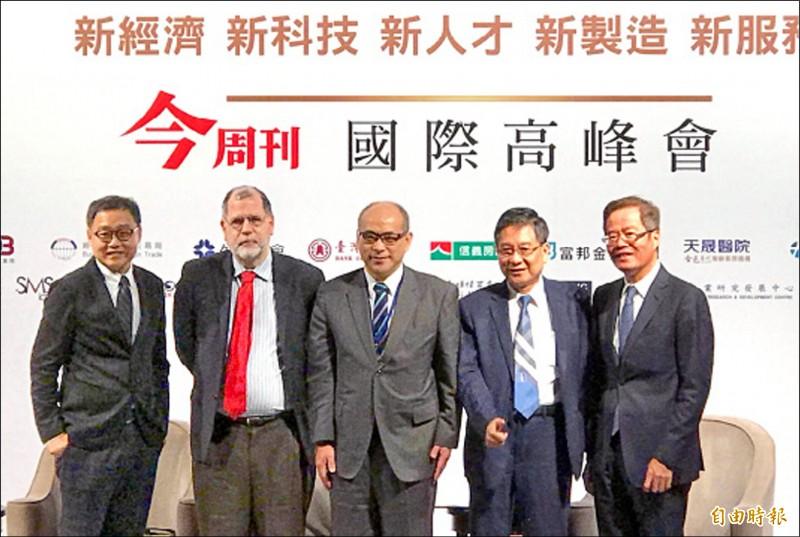 鄭貞茂︰台保護智財權 是全球科技鏈首選