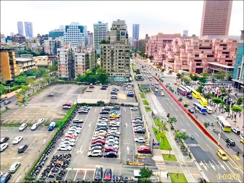 「最貴停車場」不建豪宅 蓋商辦挑戰全國最高租金