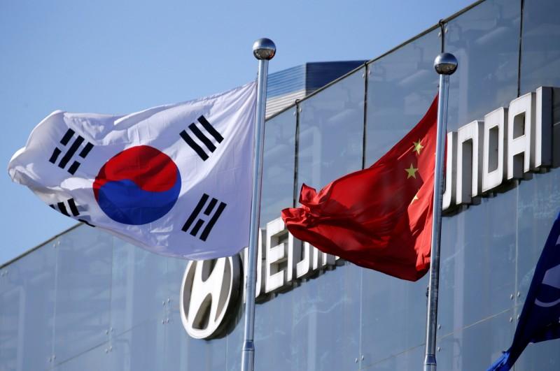 日韓貿易戰開打 中國科技業躺槍
