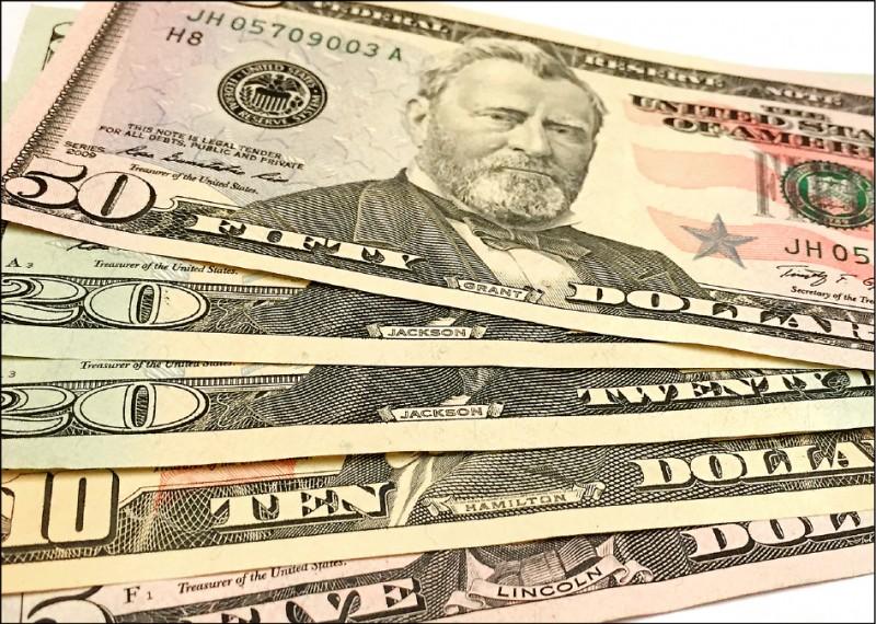 股利匯出 台幣貶3.3分