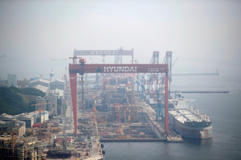 韓最大造船廠警告:貿易戰壓抑訂單增長 國際航運恐趨緩