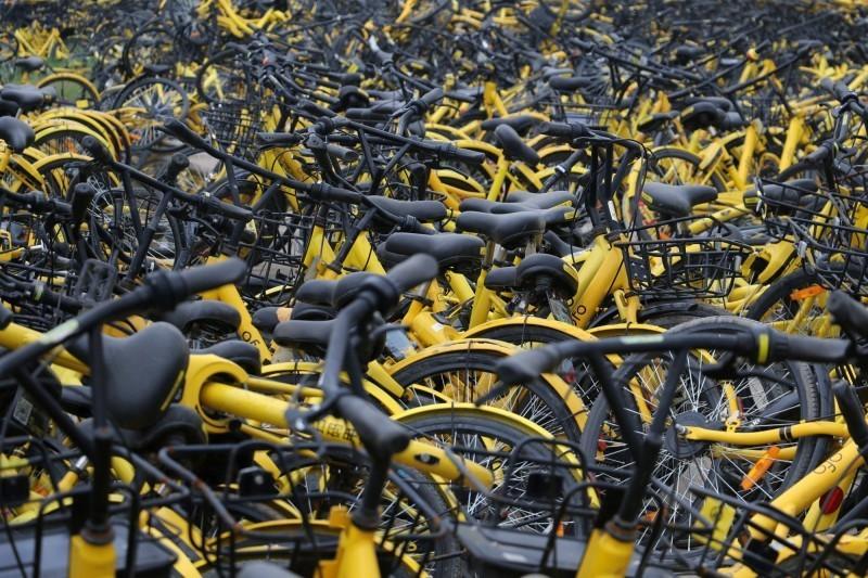 淒涼!中國ofo小黃單車傳以5元人民幣賤價回收