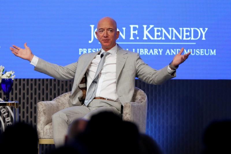 創紀錄大賣亞馬遜逾5百億股票 貝佐斯目的是......
