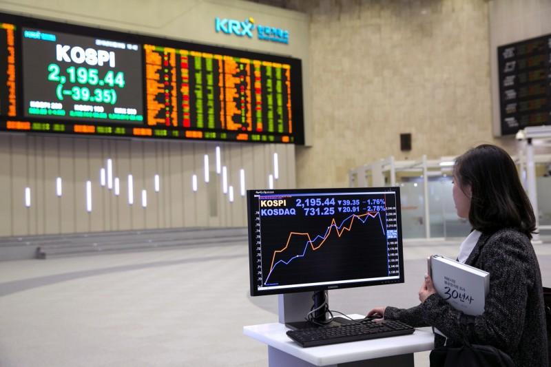 韓國創業板突然暴跌 熔斷制機啟動暫停交易5分鐘