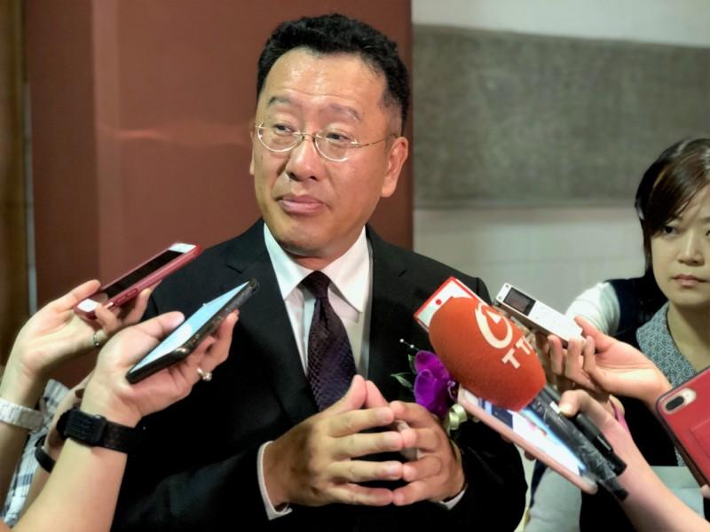 我金融業對香港曝險逾兆元   顧立雄:營運尚未受反送中影響