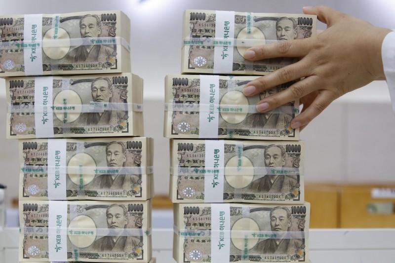 國際局勢動盪 日圓飆至7個月新高