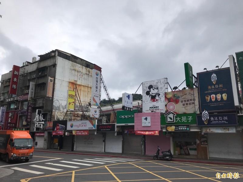 士林夜市「人瑞級」百歲老店面  僅1年租金跌逾2成
