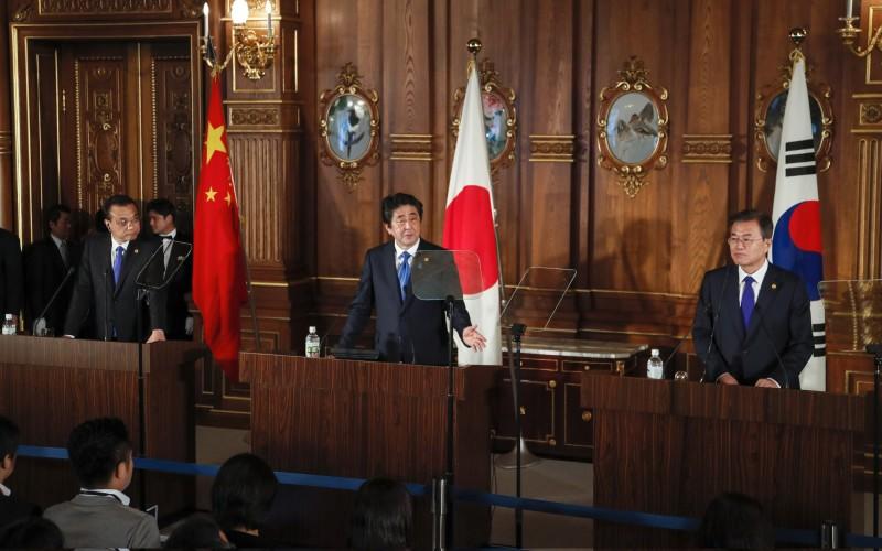 日韓貿易戰  中國表明想介入調解