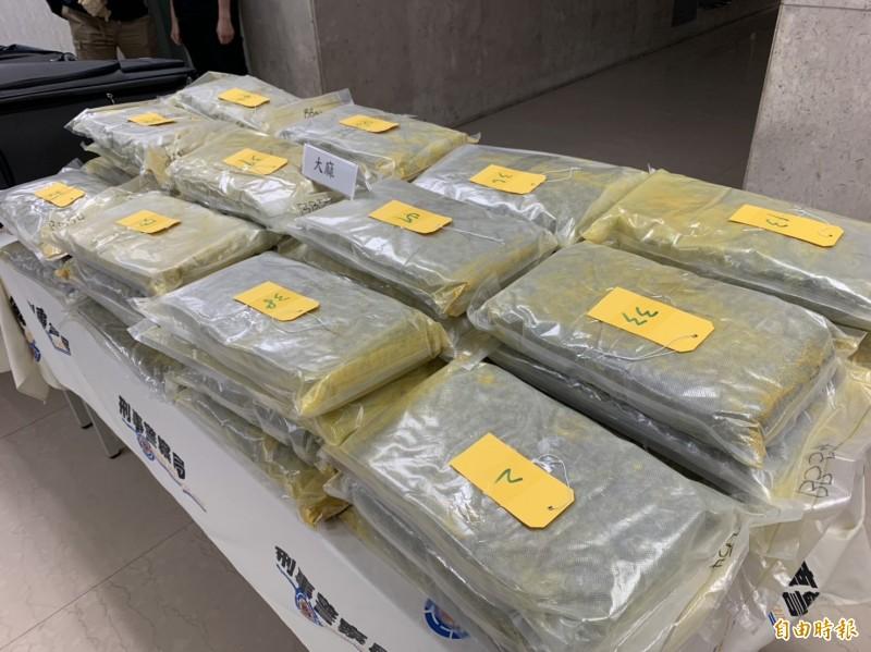 海關今年已查獲毒品運輸5287.8公斤 靠「密報」掃毒查獲量佔5 ...