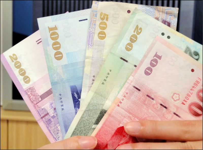 外資匯出 新台幣貶5.3分