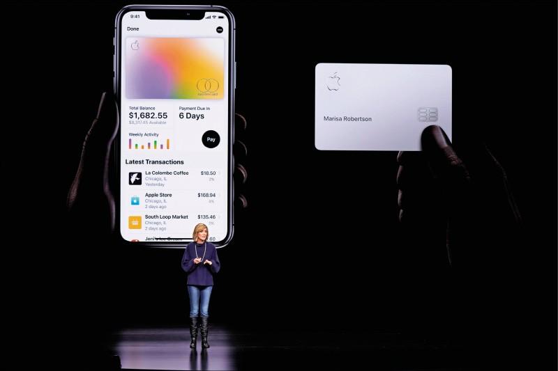 國際現場》蘋果攜手高盛 推Apple Card信用卡