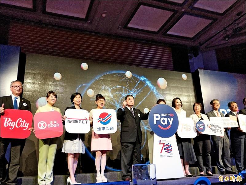 搶進行動支付 HAPPY GO Pay7銀行上線