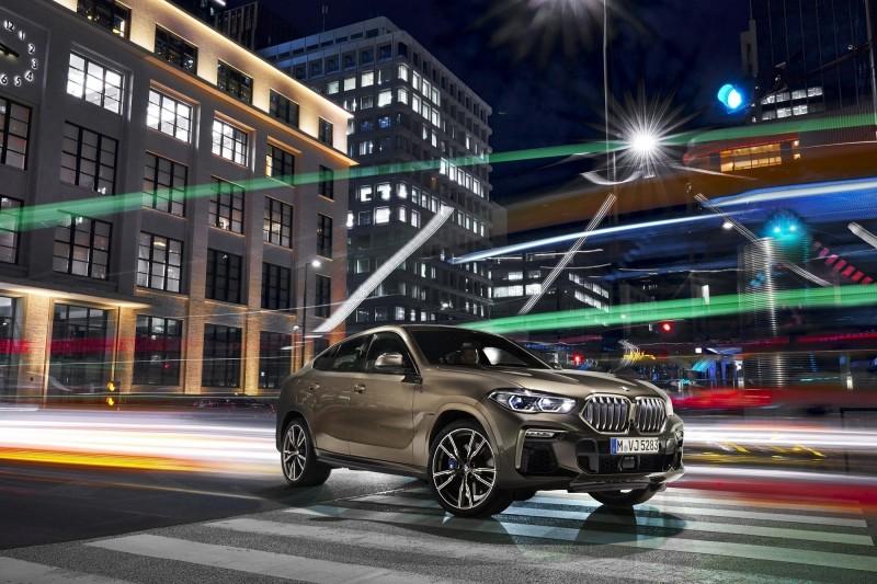 斜背跑旅之王BMW X6第4季登台 預售價365萬元起