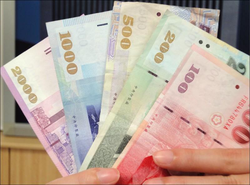 股匯雙跌 台幣貶4.9分