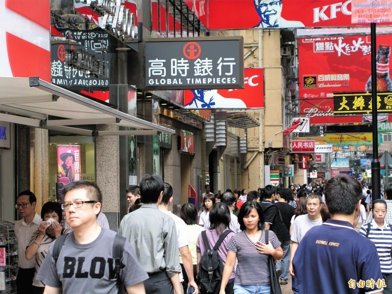 我金融業對香港曝險縮減  一個月掉347億元