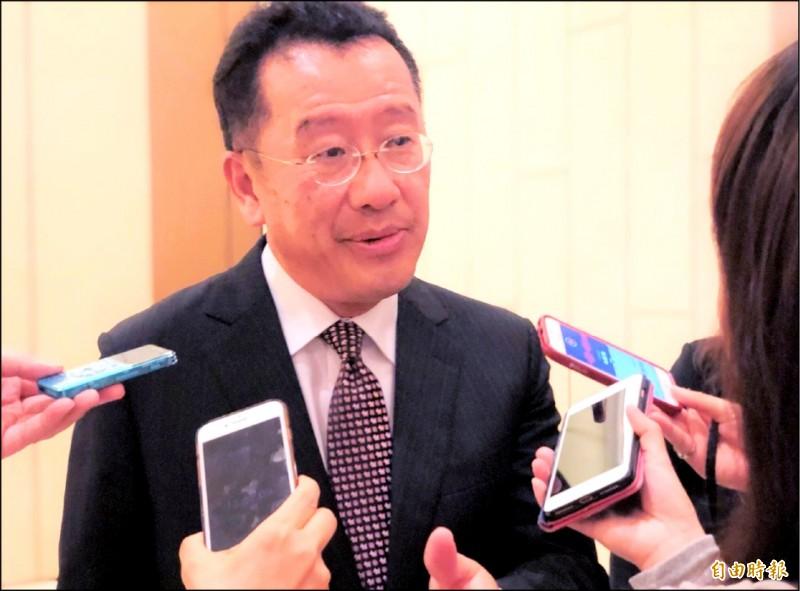 貿易戰升溫 顧立雄:台灣經濟「轉骨」契機