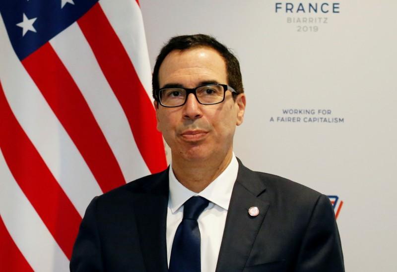 美財長稱美中貿易談判會舉行 但未提具體時間