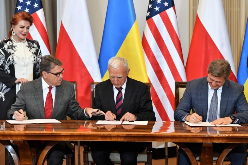 美將助波蘭、烏克蘭 減少對俄天然氣依賴