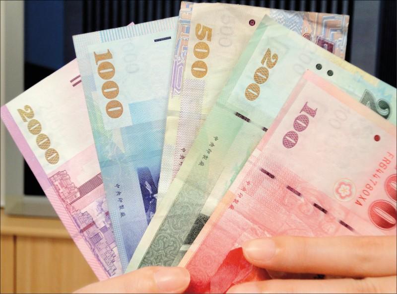外資匯入 台幣小升0.8分