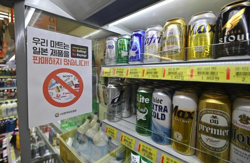 抵制日貨有感!南韓上月自日本進口啤酒額大減97%