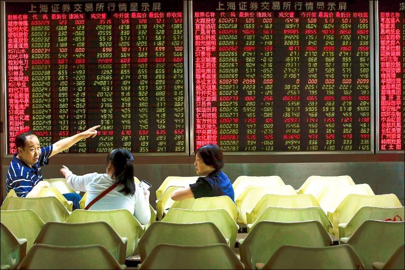 人幣貶股市瀉 中國出口、地產雙慘