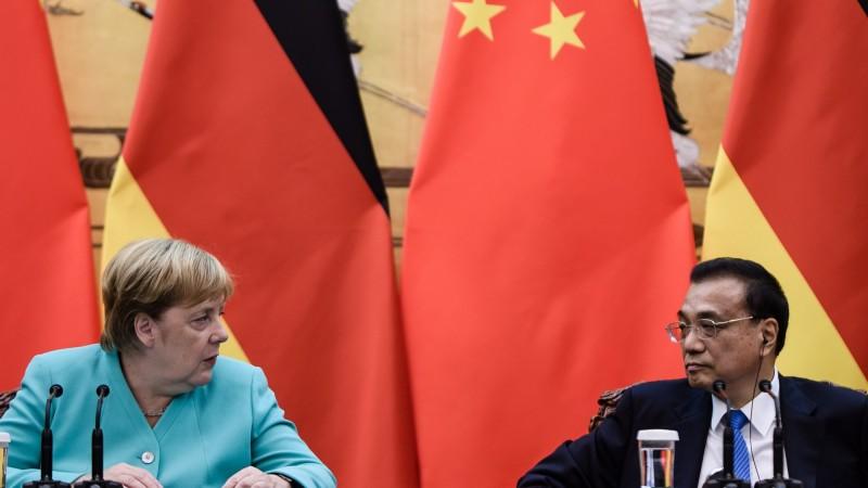 梅克爾今訪中國 呼籲儘速解決貿易戰爭端