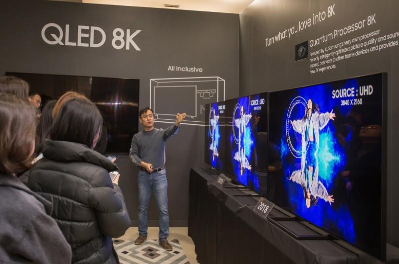 毋係金A!LG批:三星8K電視不符國際標準 不是真8K