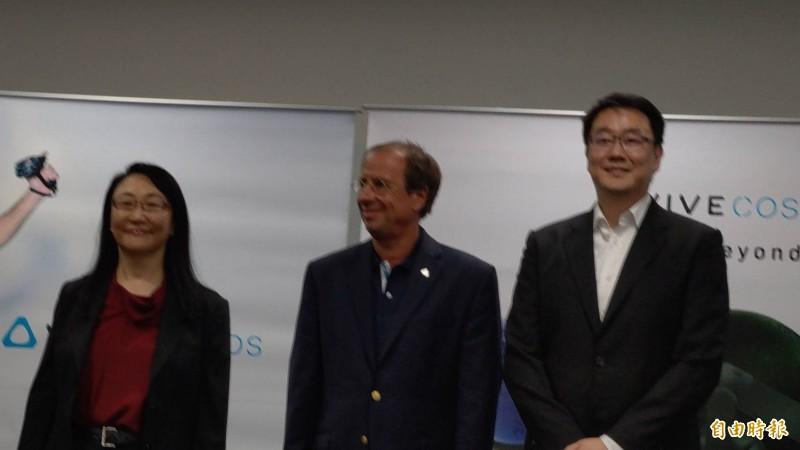 宏達電新執行長Yves Maitre曾參與阿福機發表