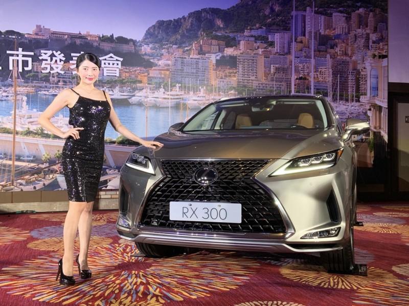 最賣豪華休旅車LEXUS RX改款上市,入門價227萬元起