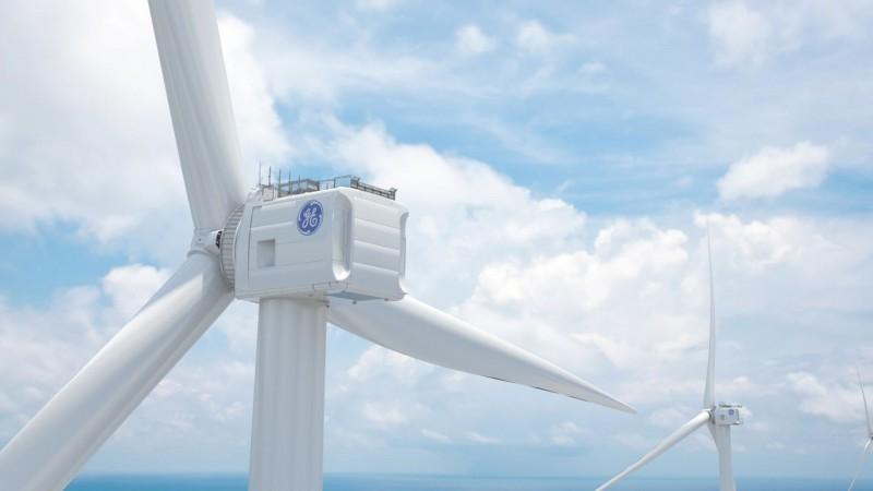 這支風機跟南山大樓一樣高!  沃旭率先使用GE Haliade-X